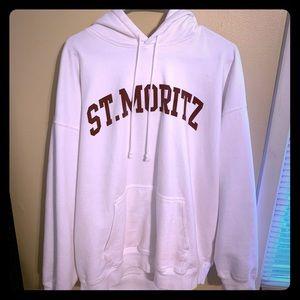 Brandy Melville Jackets & Coats - Brandy Melville St. Moritz Oversize Hoodie ❤️